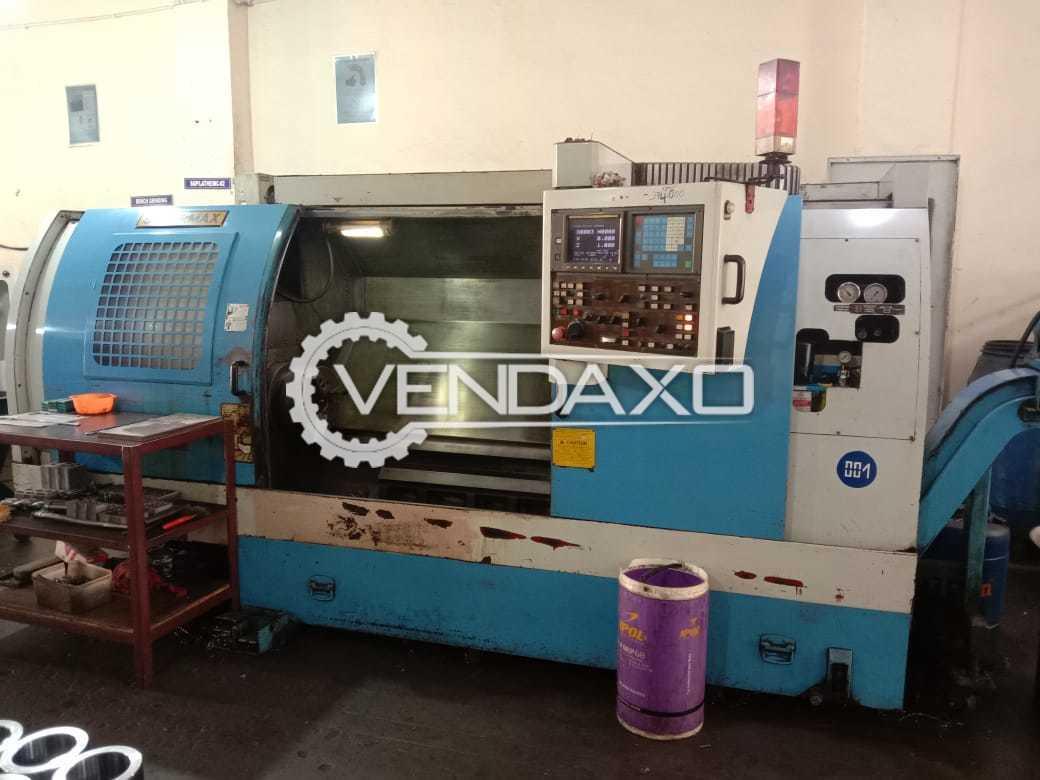 Supermax CNC Vertical Machining Center VMC - Chuck Size - 315 mm