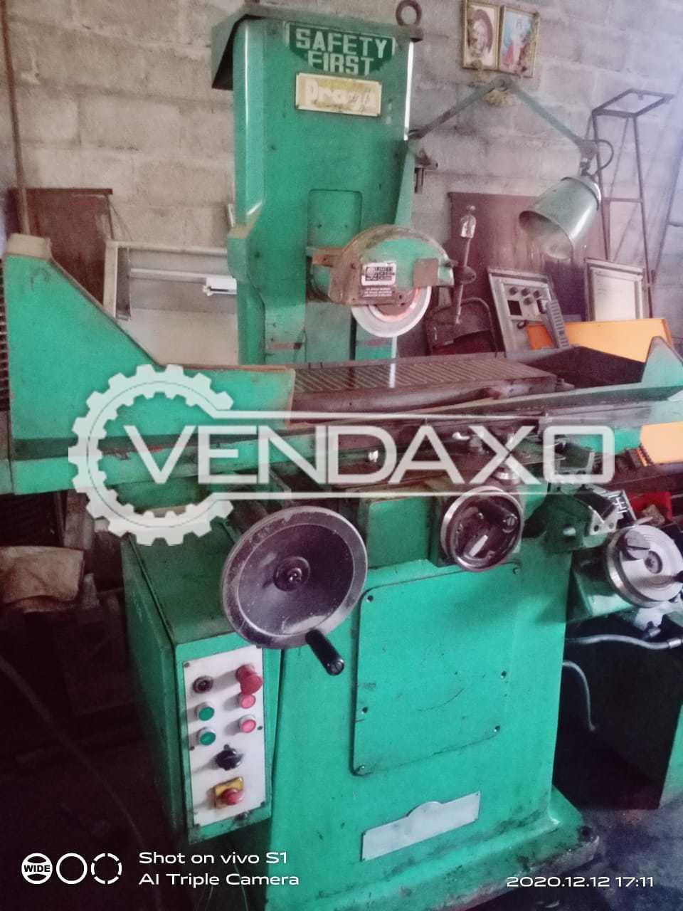 Safety First Surface Grinder Machine - 600 x 200 mm