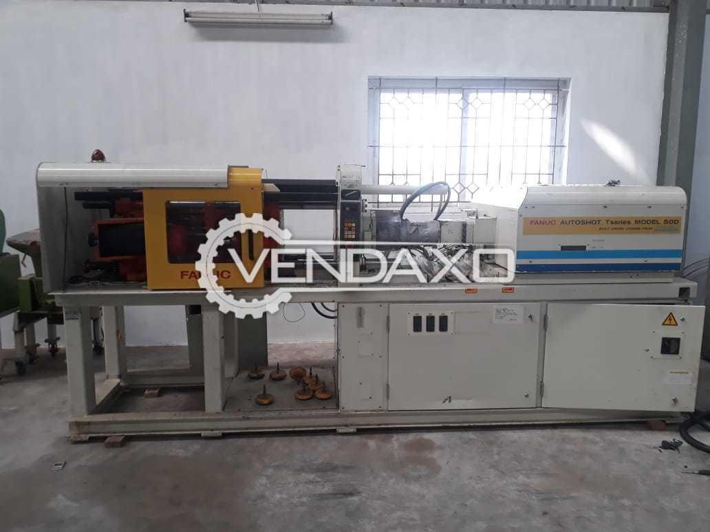 Fanuc Autoshot TSeries 50D Injection Moulding Machine - 50 Ton