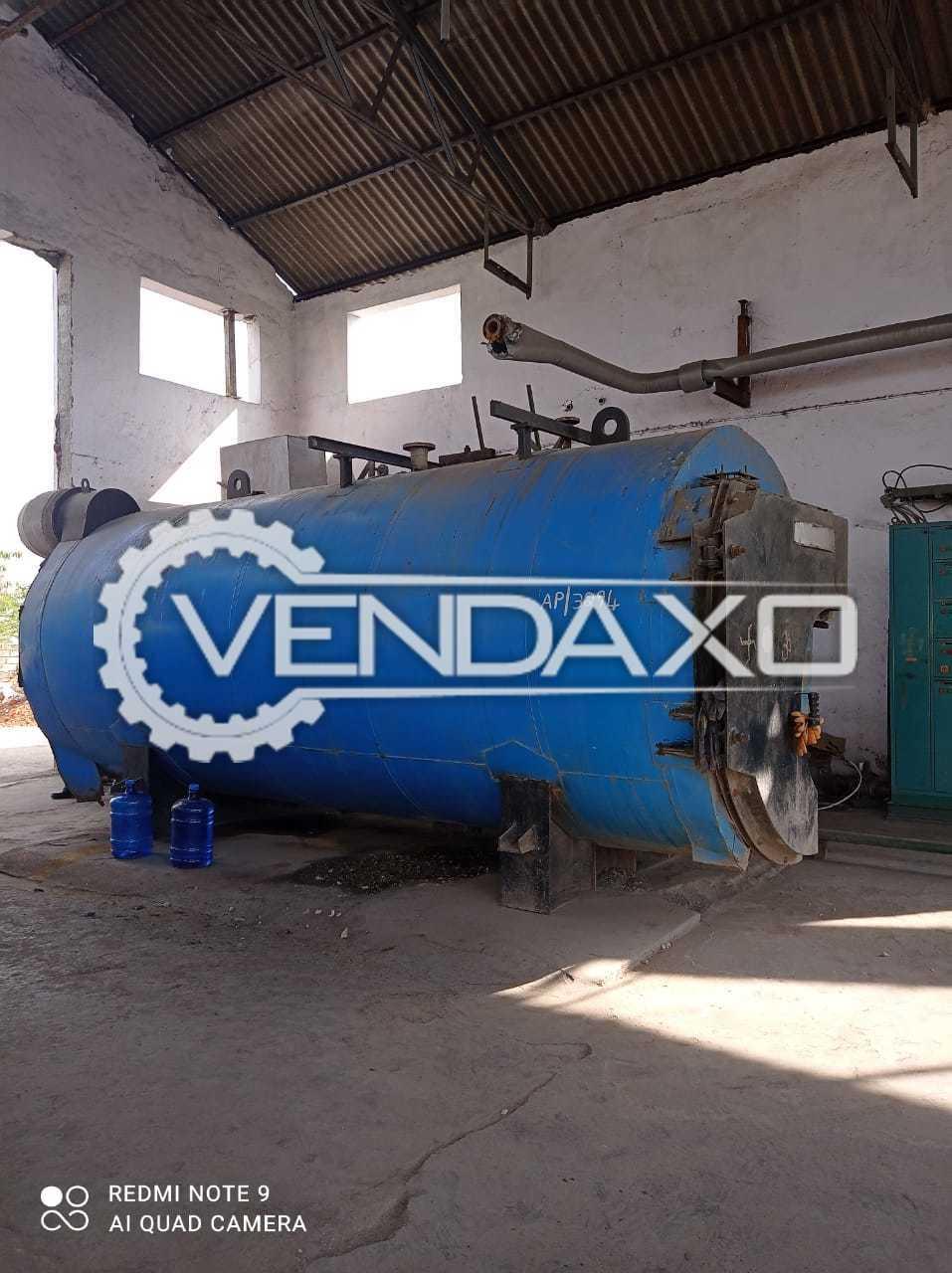 Thermax Steam Boiler - 2.5 TPH