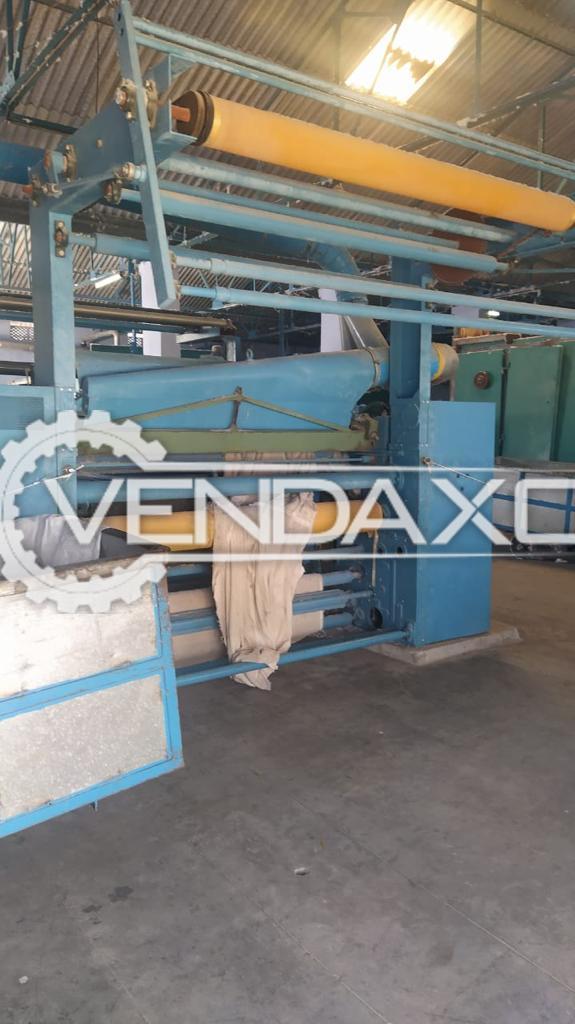 Danti Paolo 128C Textile Shearing Machine - 2013 Model