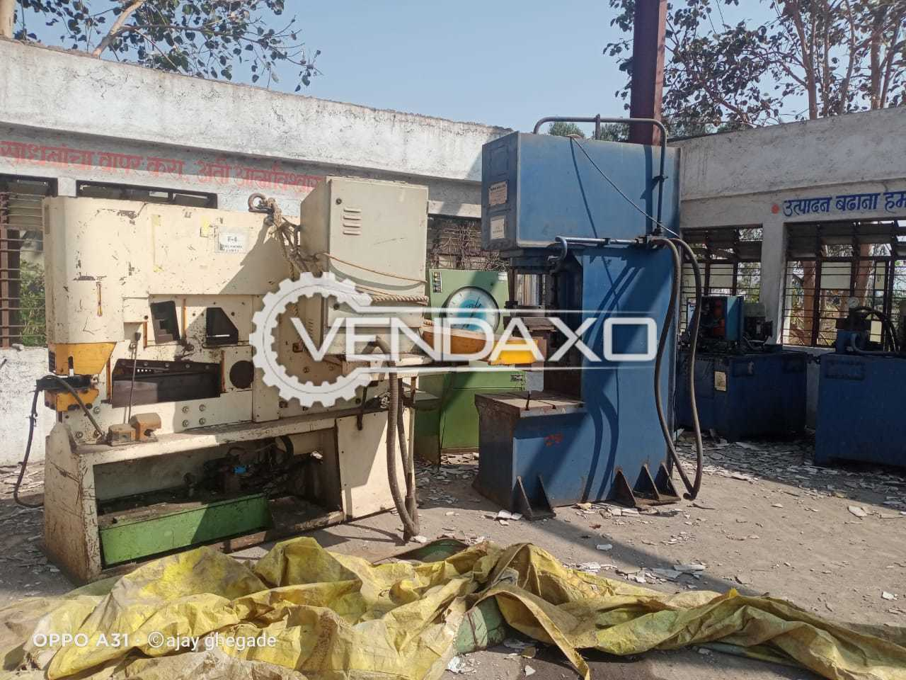 For Sale Use Upsetter Machine - 9 Inch