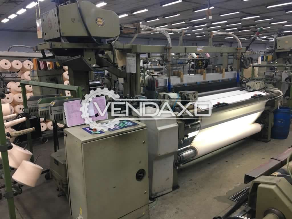 Nuovo Pignone Rapier Loom Machine - Width - 200 CM