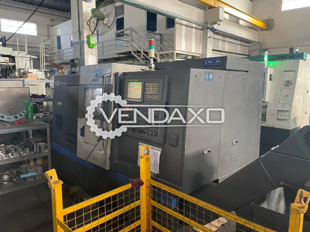 Hwacheon Hi-Tech 200C CNC Lathe Machine - Chuck Size - 255 mm