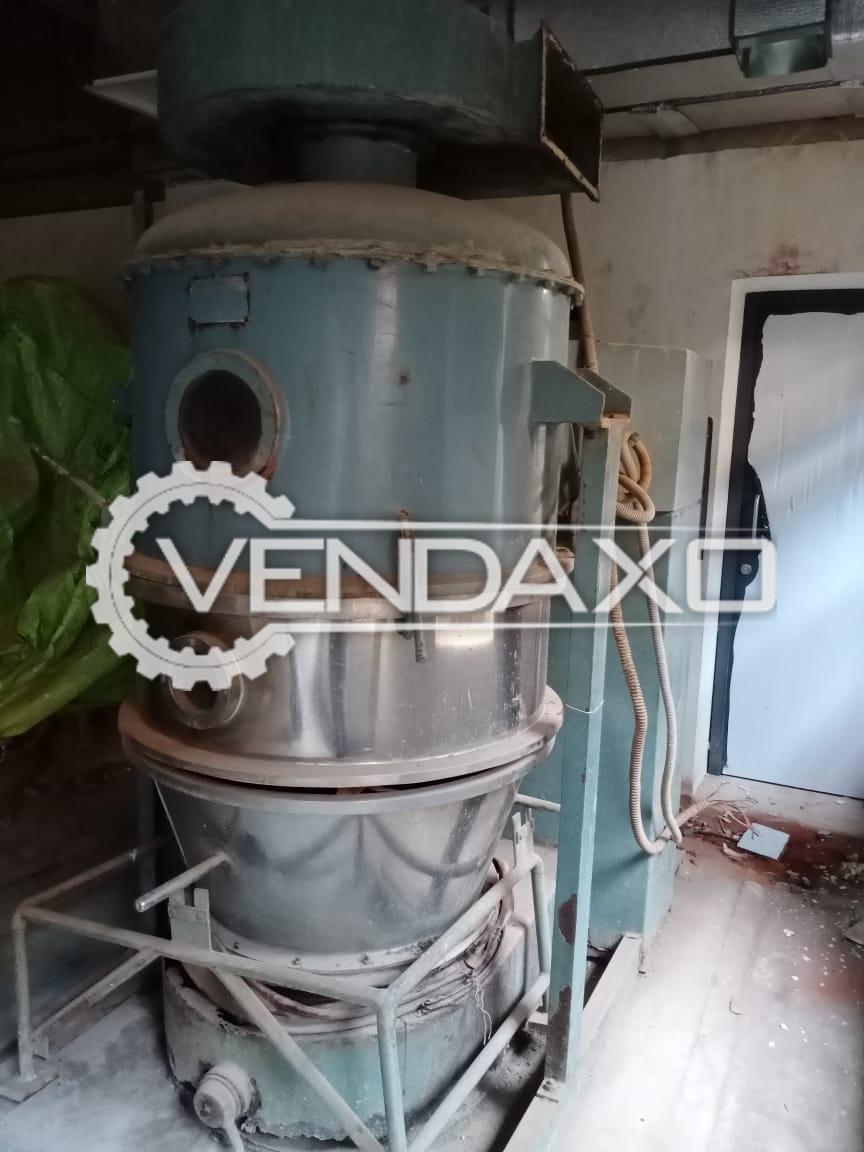 Fluid Bed Dryer (FBD) - 60 Kg