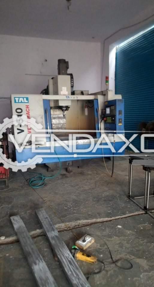 TAL V510 CNC Vertical Machining Center VMC - 800 x 500 mm