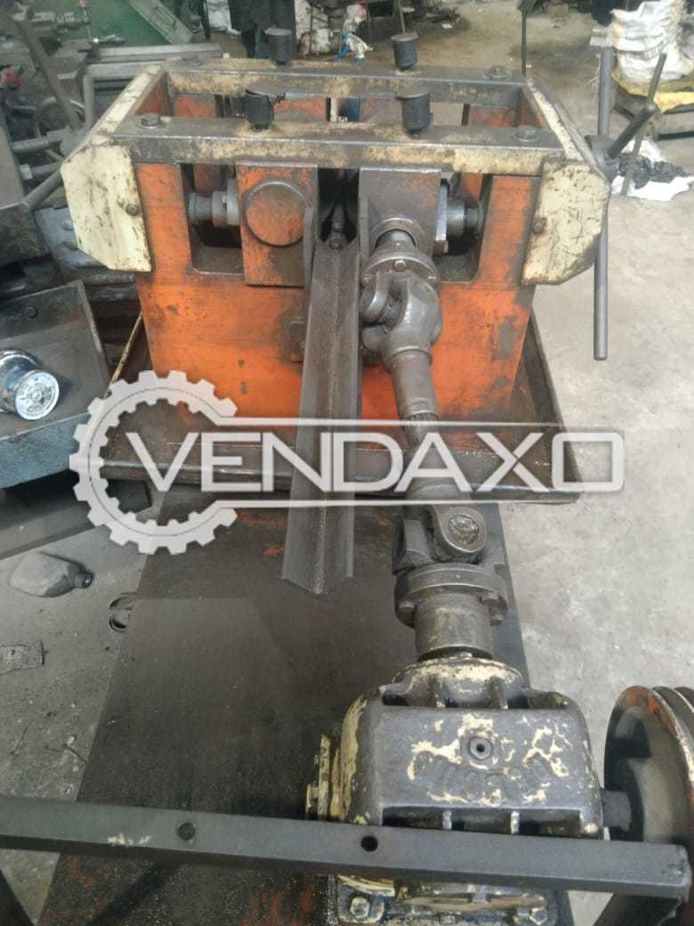 For Sale Used Rod Straightener Machine - 1 Inch
