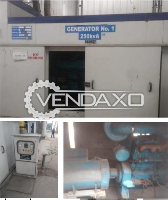 Kirloskar Cummins NTA855G Diesel Generator - 250 Kva