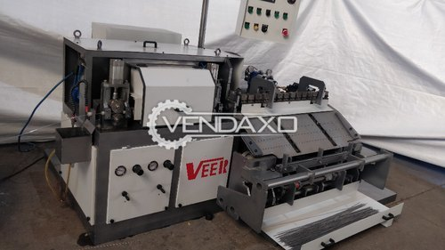 Veera Wire Straightening & TIG Wire Embossing Machine - Length - 8 Feet