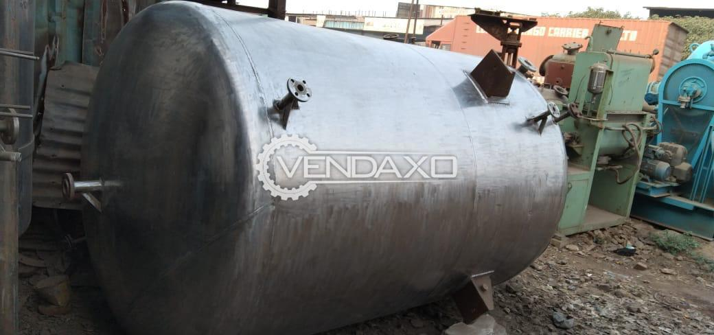 SS 316 Vacuum Receiver - 5000 Liter