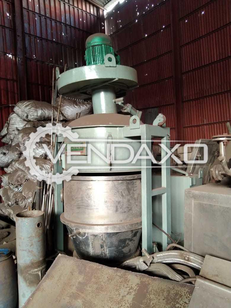 SS 316 Fluid Bed Dryer (FBD) - 120 Kg
