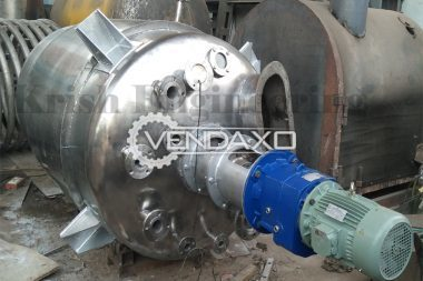 For Sale New Jacketed Reaction Pressure Vessel - 100 To 150,000 Liter