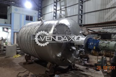 For Sale New Gum Mixing Tank - 100 To 80000 Liter