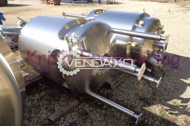 For Sale New Jacketed Pressure Vessel - 100 To 150,000 Liter