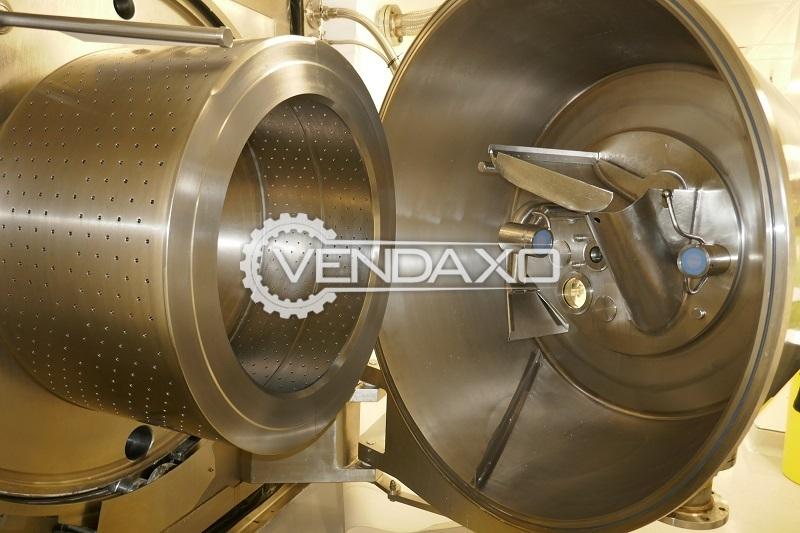 E4 012 stainless steel centrifuge