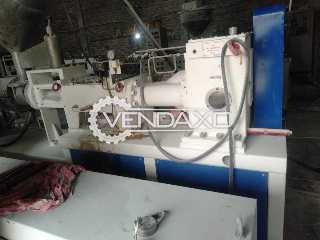 Jogindra JHC 250 Plastic Hot & Cold Mixer - 100 KG With Loader