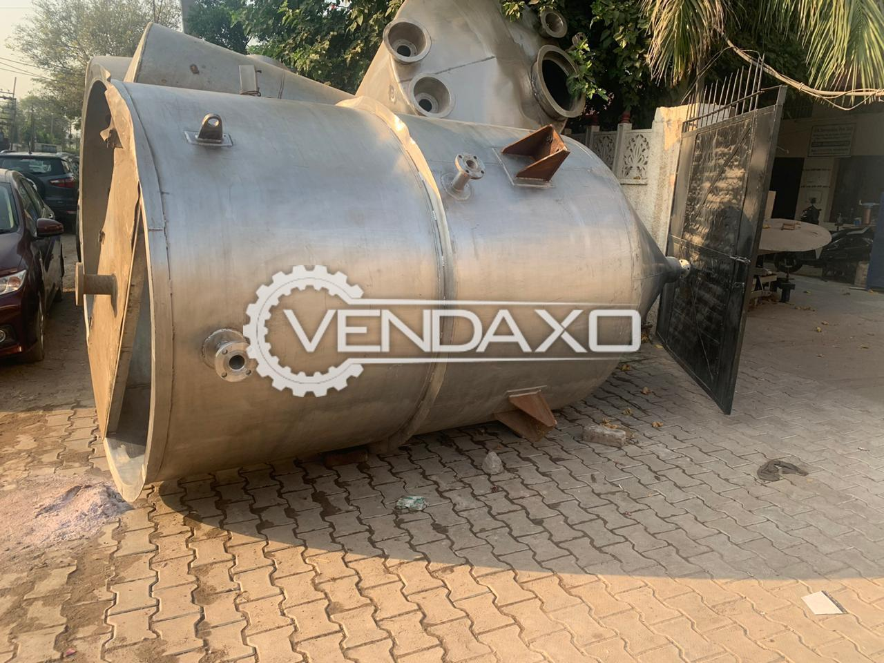 For Sale Used Conical Tank - 7.5 KL