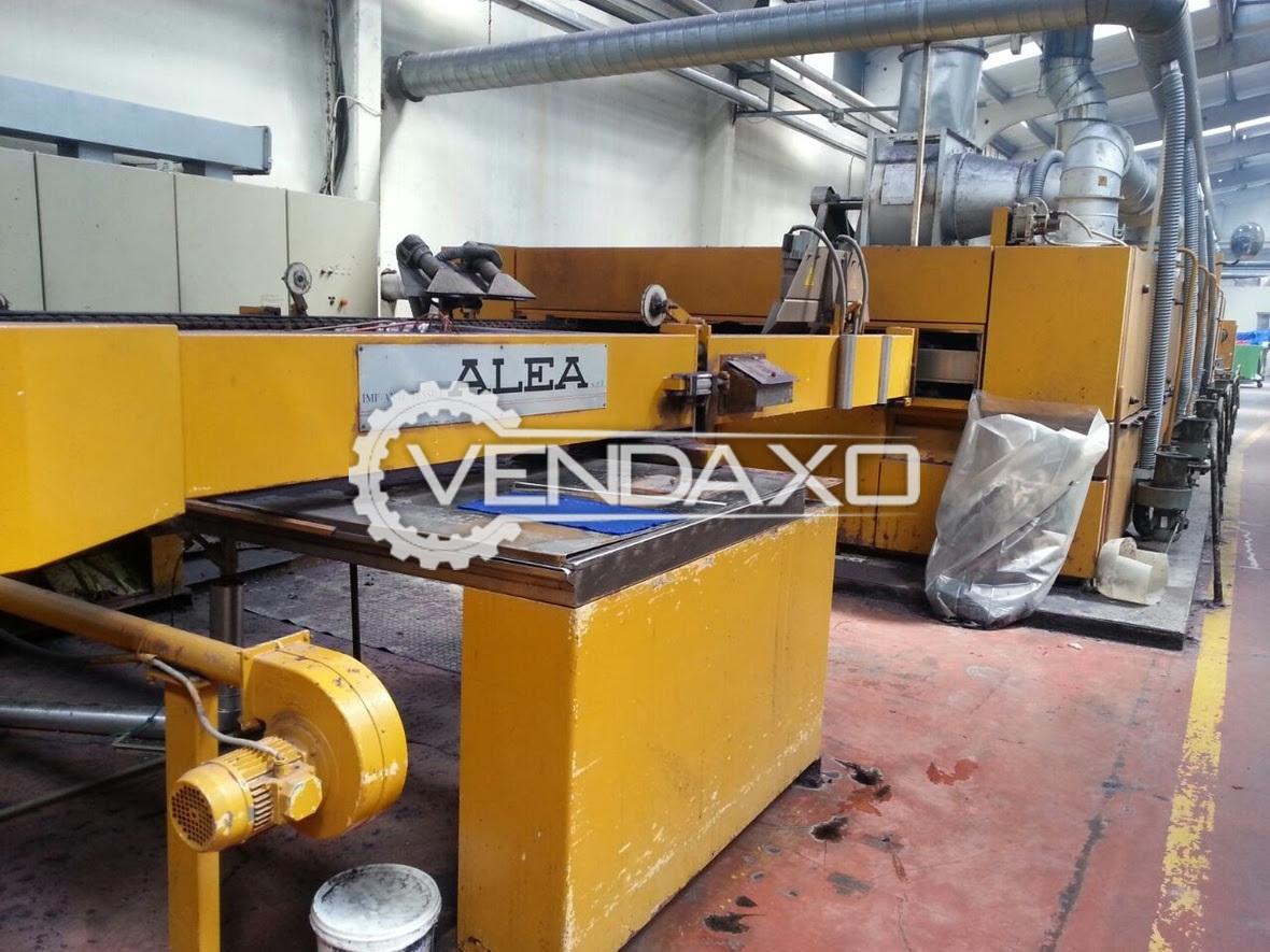 Alea Stenter Machine - 260 CM
