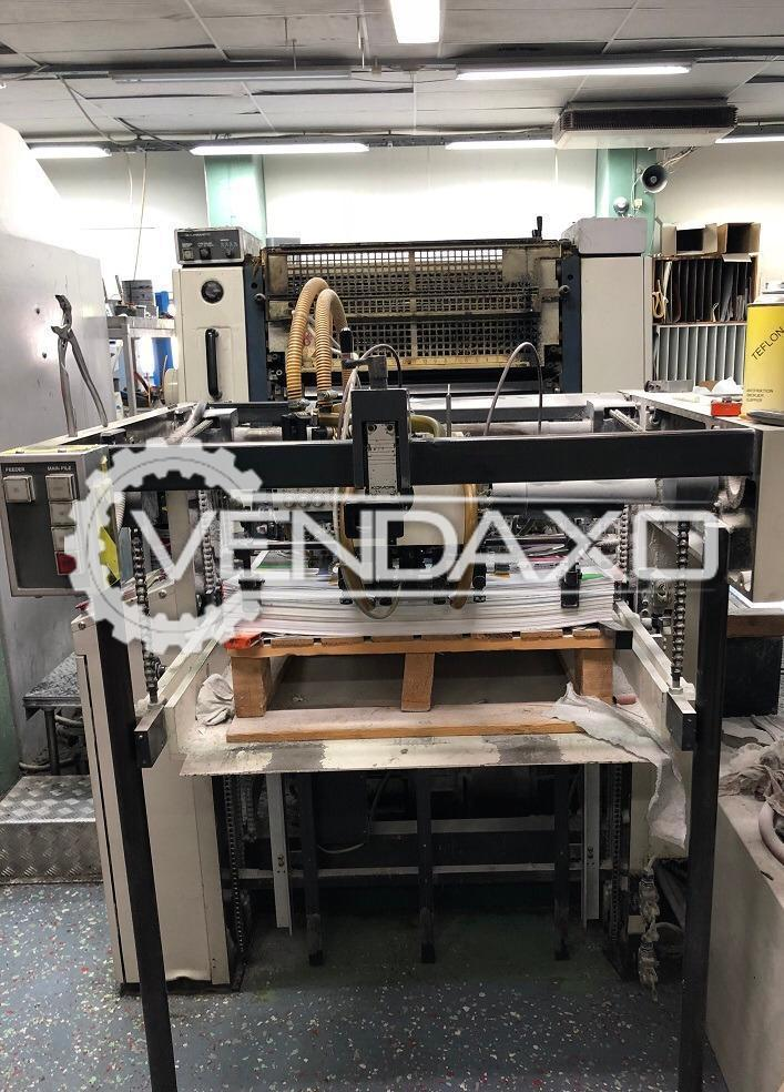 Komori Lithrone 426 Offset Printing Machine - 20 x 26 Inch, 4 Color