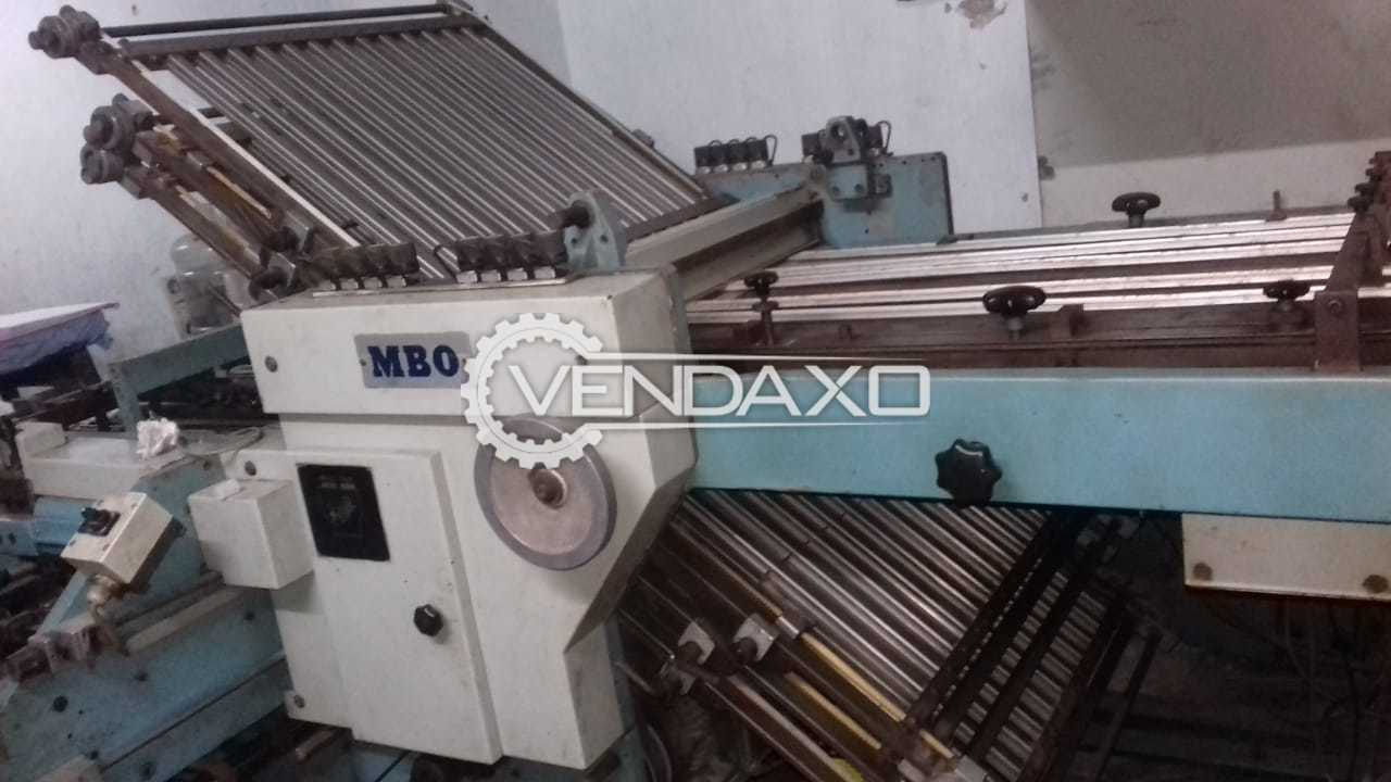 MBO Paper Folding Machine - 25 x 36 Inch