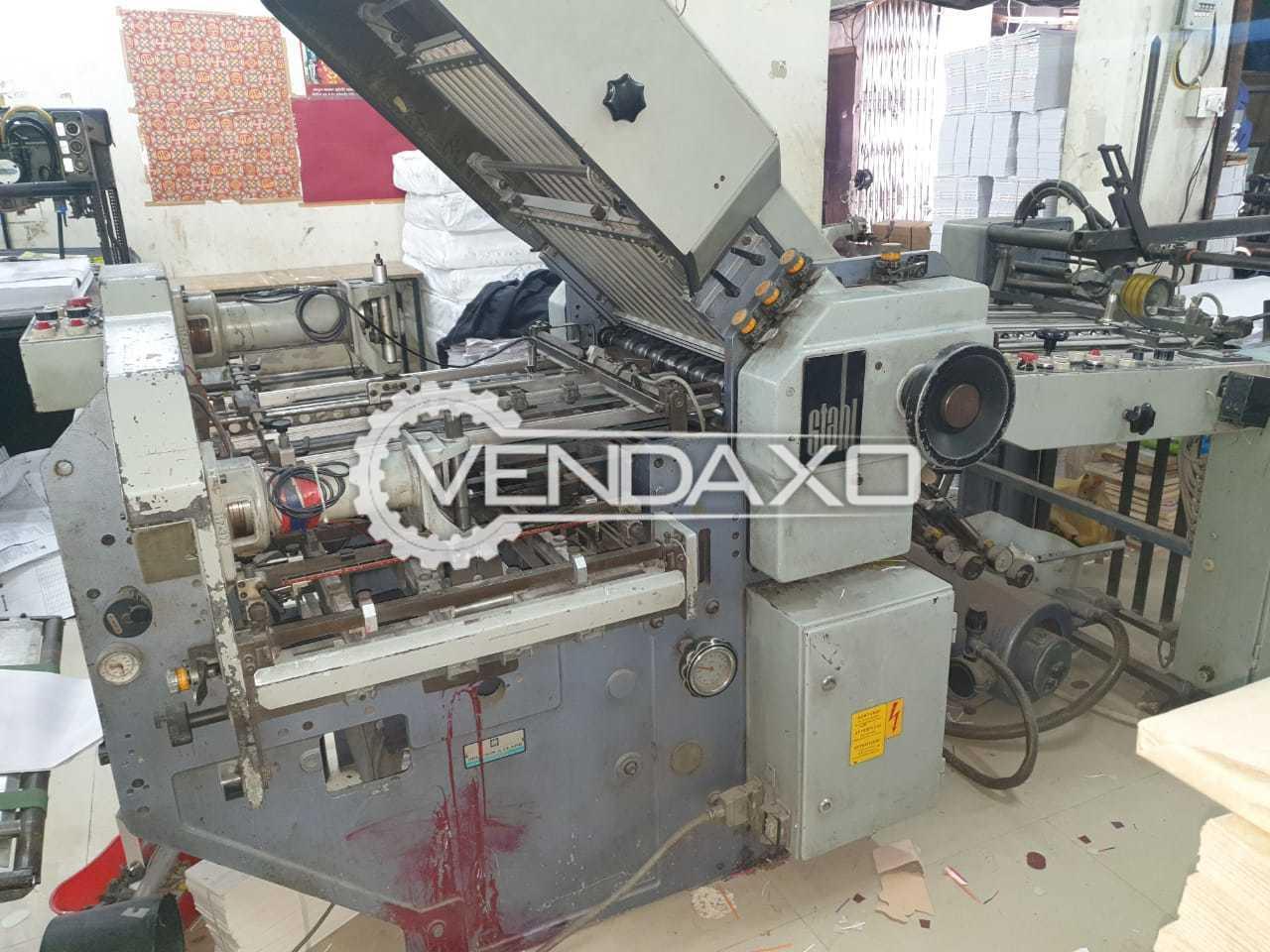 Stahl KC 56/ 4KTL-FE Paper Folding Machine - 22 x 32 Inch