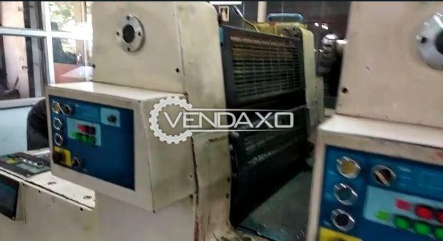 Hashimoto 564 Offset Printing Machine - 16 x 22 inch, 4 Color