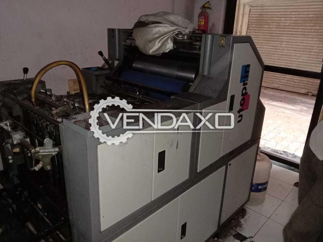 For Sale Used Knight Autoprint Machine - 15 x 20 Inch