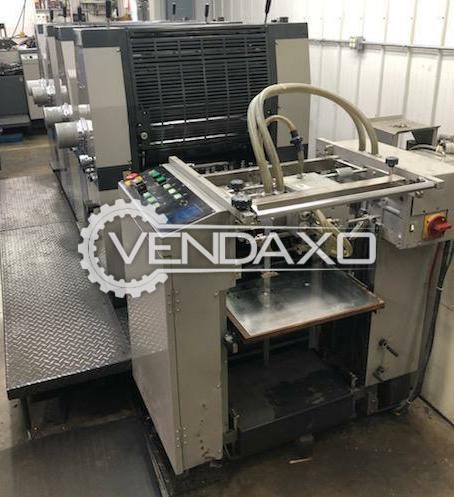 Ryobi 524H Offset Printing Machine - 15 x 20 Inch, 4 Color