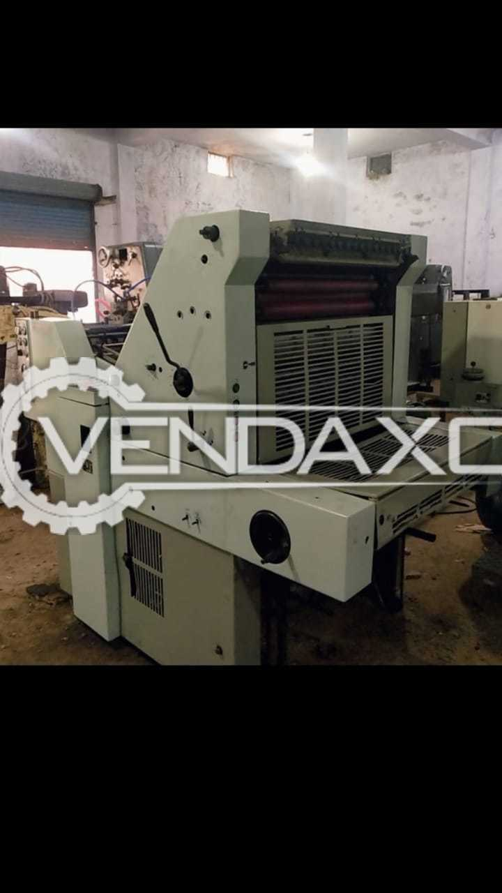 Adast Dominant 714 Offset Printing Machine - 19 X 26 Inch, Single Color