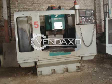 Feeler FMW 900-1100 CNC Vertical Machining Center VMC - Table Size - 900 x 500 mm