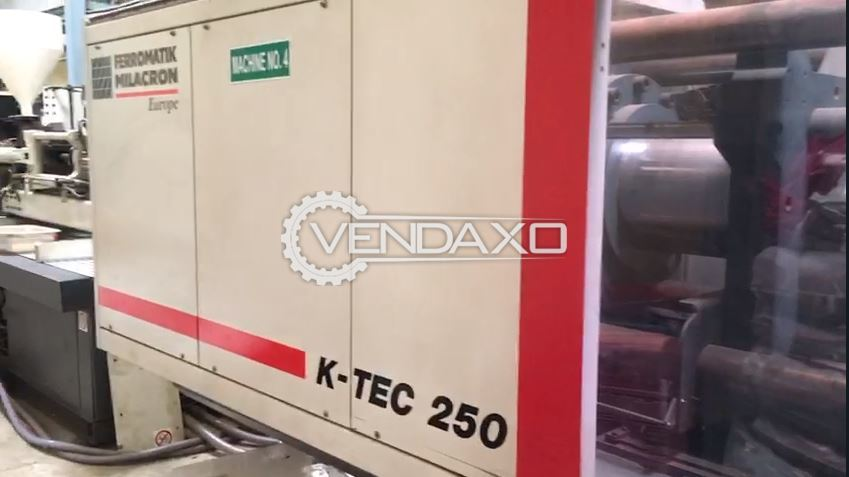 Ferromatik Milacron K-TEC 250 Injection Moulding Machine - 250 Ton