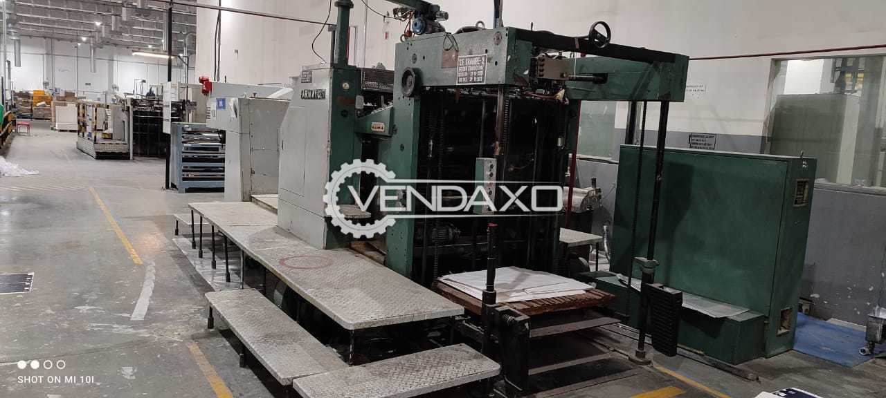 For Sale Used Manual WY1020 Gravure Press - 1020 x 720 mm