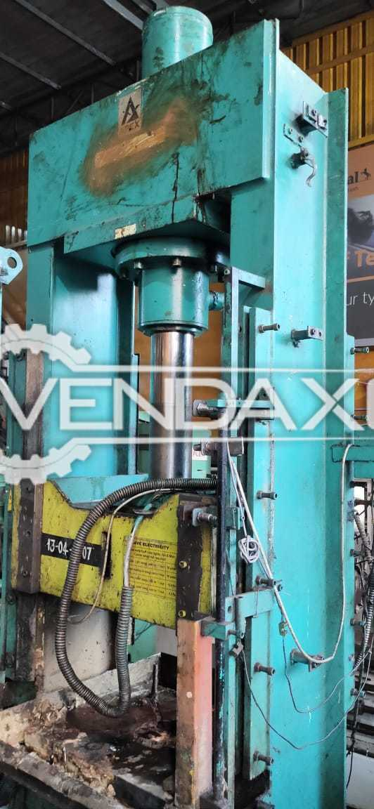 Apex Hydraulic Power Press - 100 Ton