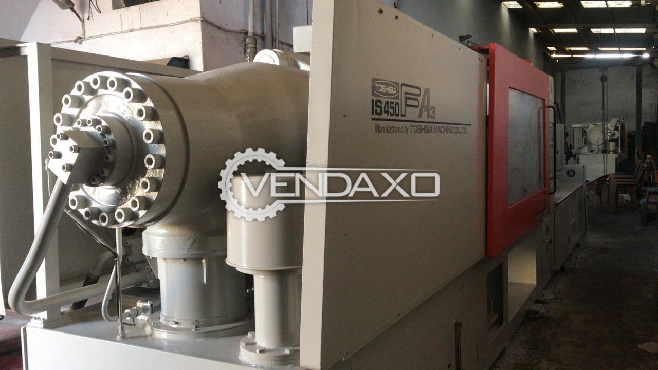 Toshiba IS450-FA3 Injection Moulding Machine - 450 Ton