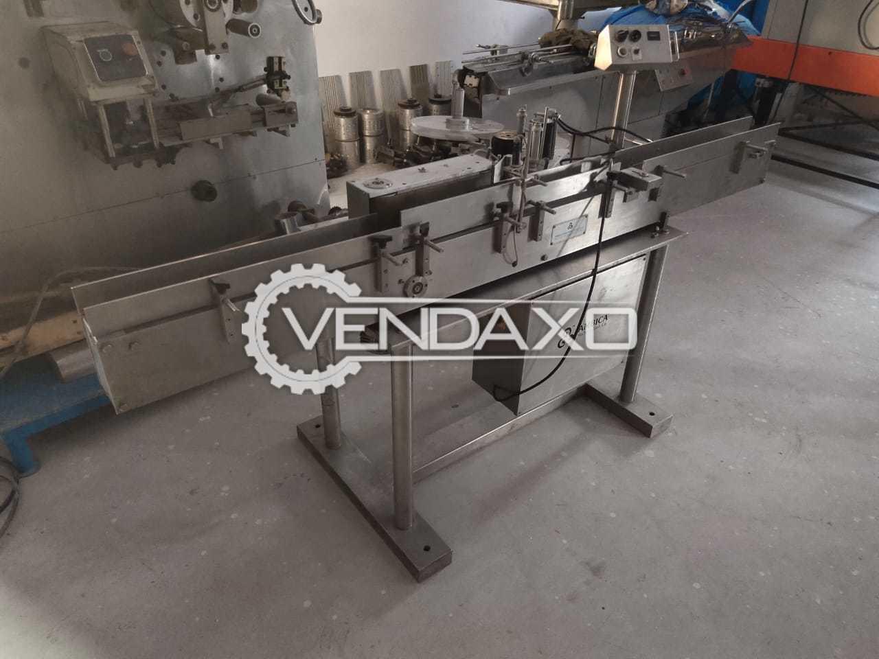 For Sale Used Ambica Sticker Label Machine - GMP Model