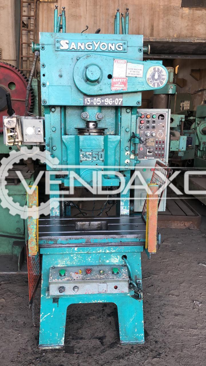 Sangyong CS50 Power Press Machine - 50 Ton