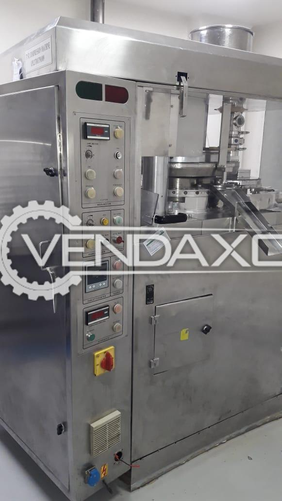 For Sale Used D Tooling Pharma Tablet Pre-Compression Machine - 37 Station
