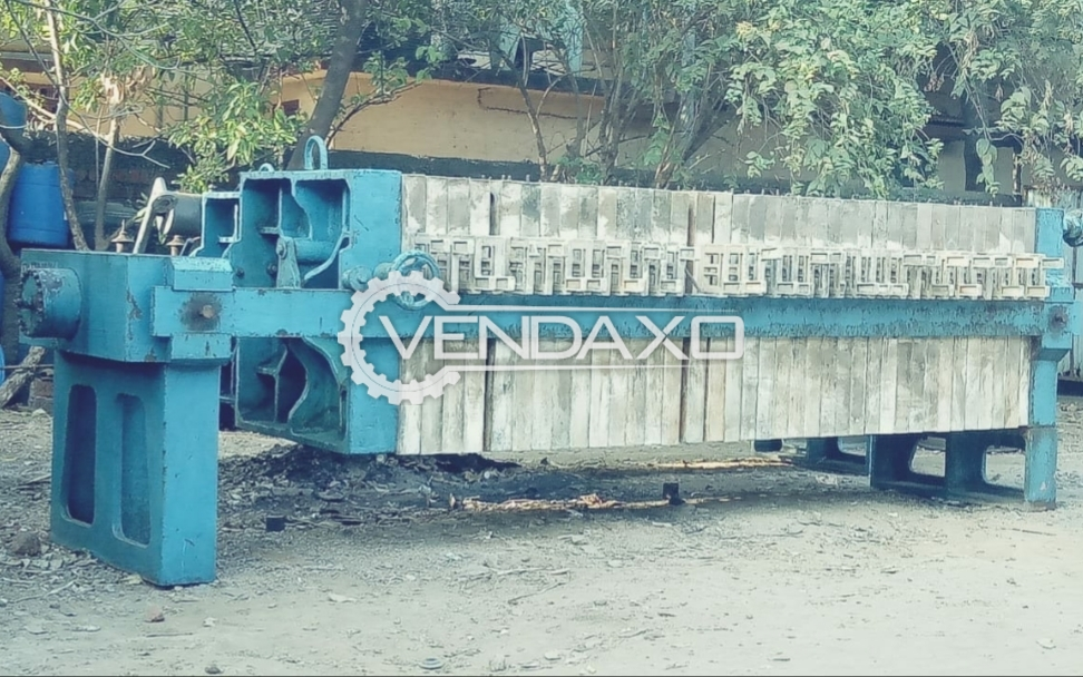 For Sale Used Hydraulic Filter Press - 36 x 36 Inch