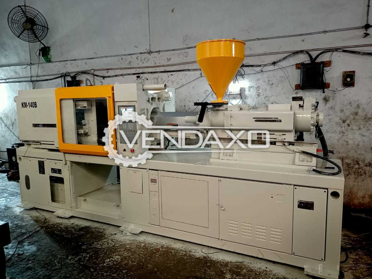 Kawaguchi KM-140B Injection Moulding Machine - 140 Ton