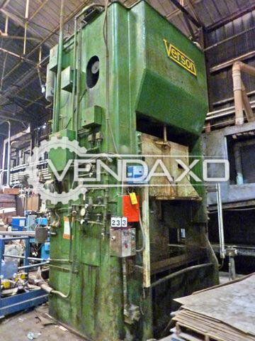 Verson Straight Side Double Crank Press - 250 Ton