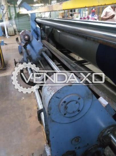 Rabatex Economic 106 Warping Machine - Width - 3200 mm