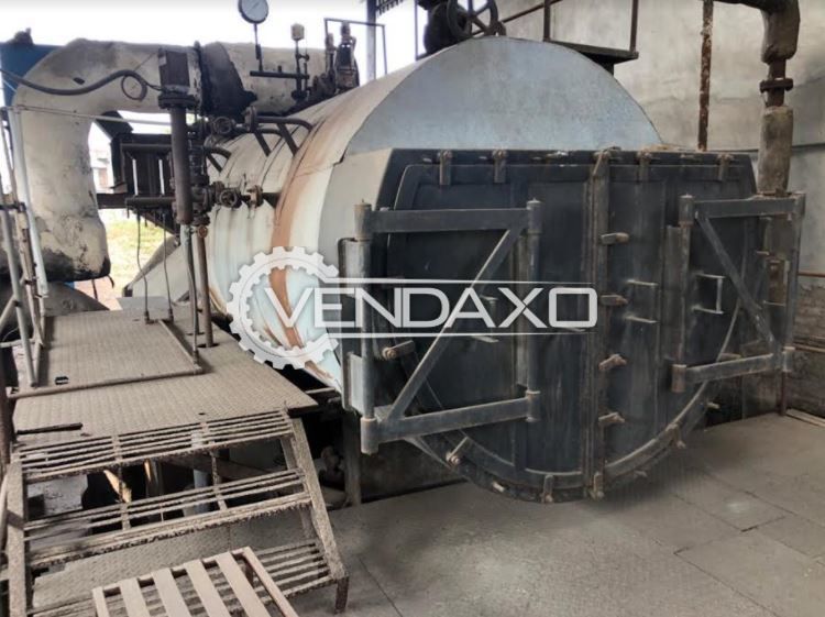 For Sale Used Boiler - 4.5 Ton