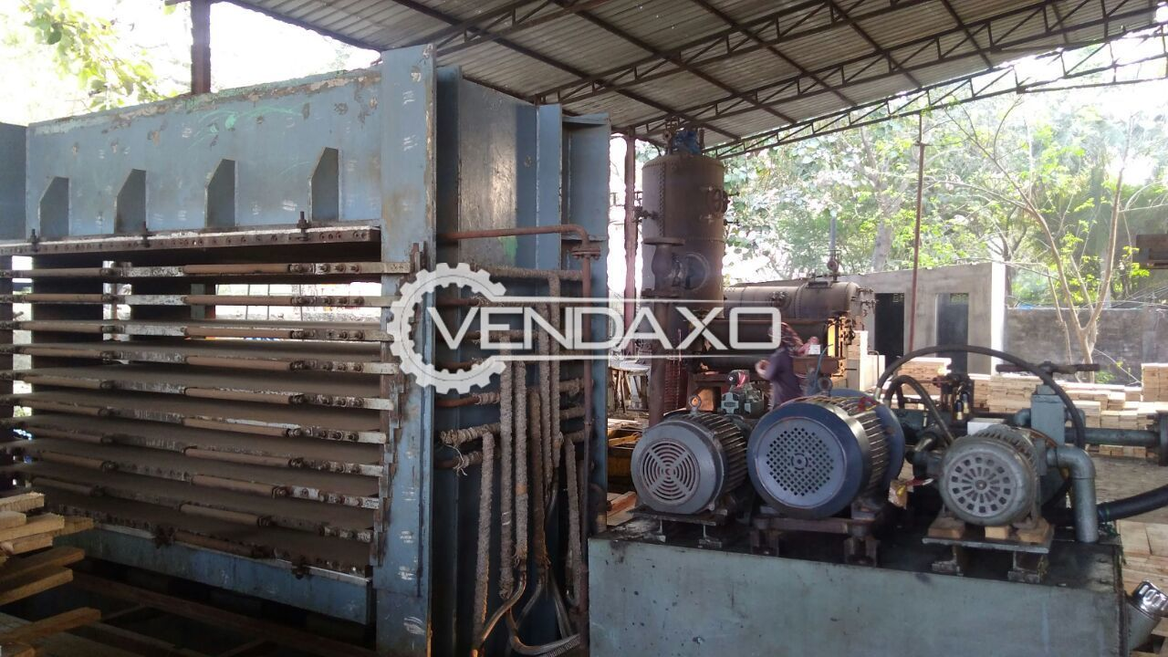 Plywood Manufacturing Machinery