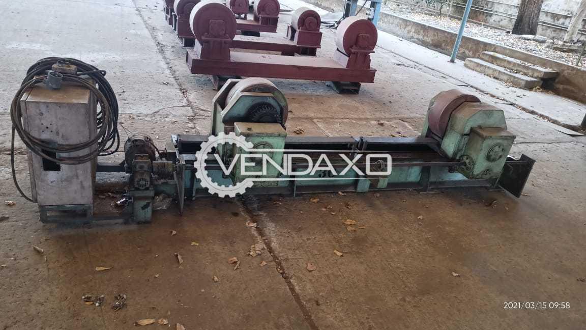 For Sale Used Welding Rotator Machine - 30 & 40 Ton