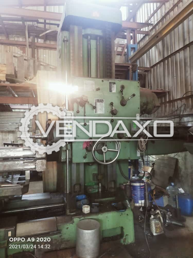 For Sale Used WMW Boring Machine - Spindle Size - 125 mm