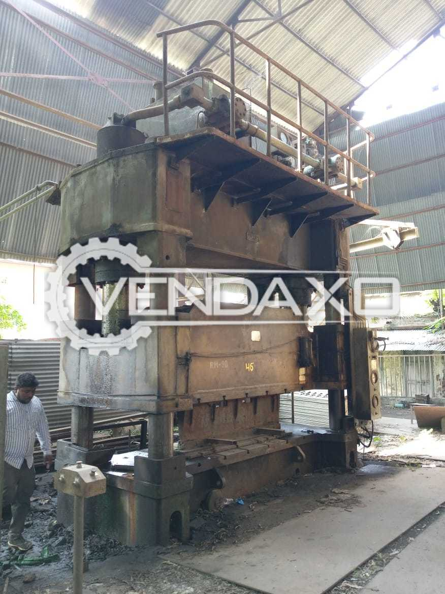HMT H Type Hydraulic Power Press - 400 Ton