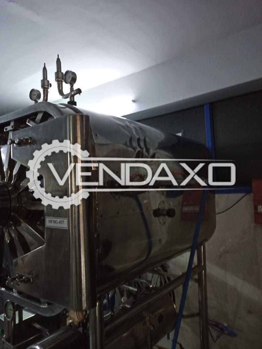 Lance Engineering Steam Sterilizer - 600 x 600 x 1200 mm