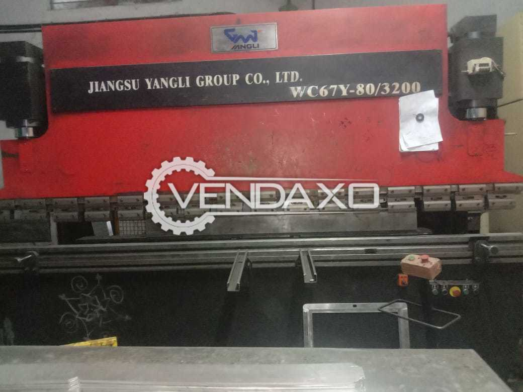 Jiangsu Yangli Hydraulic Shearing Machine - 3000 x 6 mm