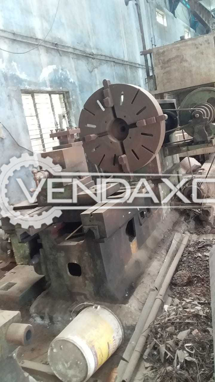 For Sale Used Facing Lathe Machine - 1.5 Meter x 24 Inch