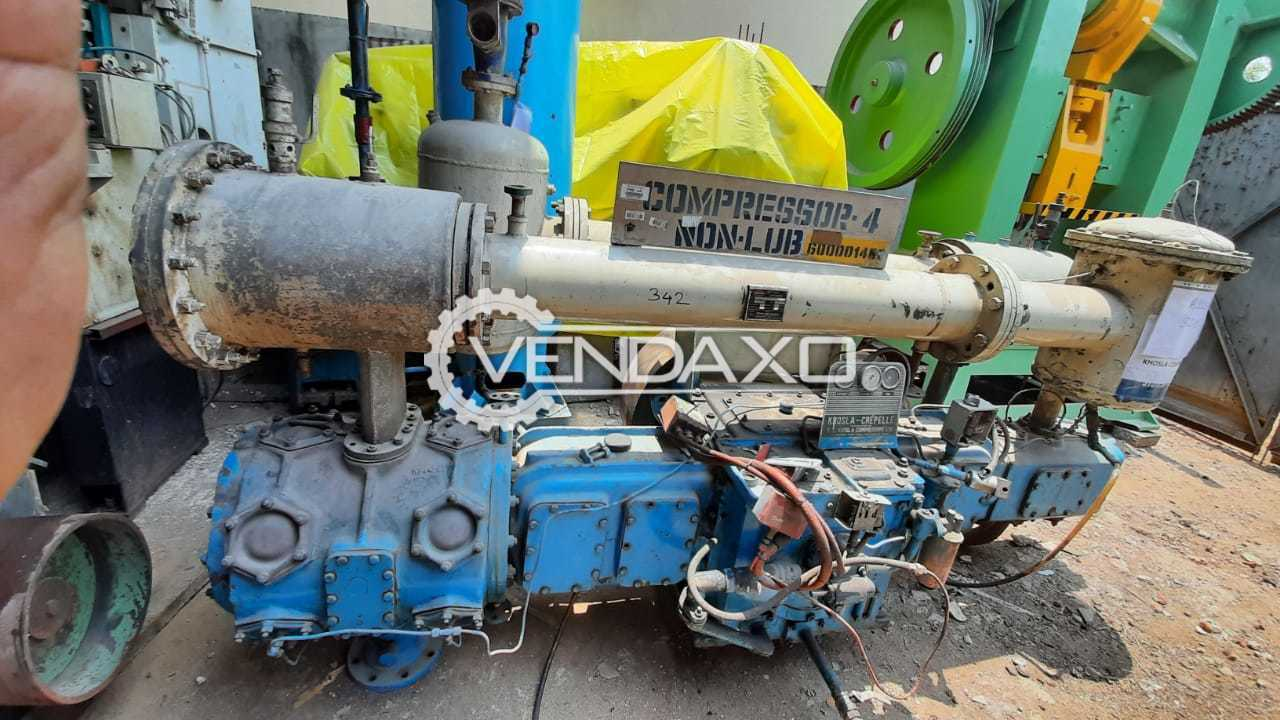 For Sale Used Khosla Air Compressor - 100 HP